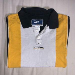 Vintage Reebok Iowa Polo